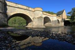 The bridge over the Werra Stock Photography