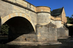 The bridge over the Werra Royalty Free Stock Images