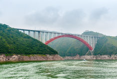 Bridge over the Yangtze Royalty Free Stock Image