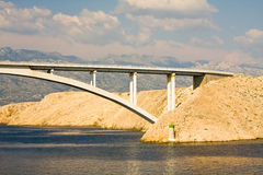 Bridge, Pag Island, Croatia Stock Photos