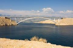 Bridge, Pag Island, Croatia Stock Photography
