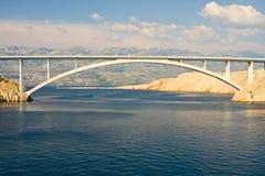 Bridge, Pag Island, Croatia Royalty Free Stock Photography