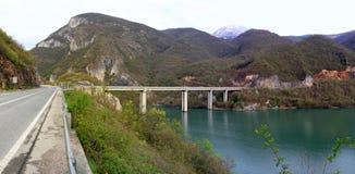 Bridge panorama Royalty Free Stock Images