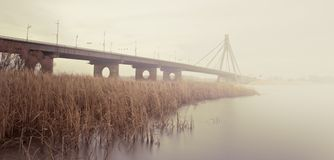 Bridge panorama Stock Photo