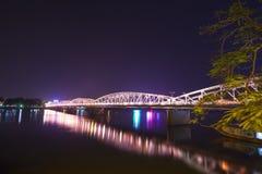 Bridge on the parfum river, Hue, Vietnam. Royalty Free Stock Photos
