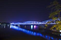 Bridge on the parfum river, Hue, Vietnam. Stock Photos