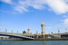 Bridge in Paris Royalty Free Stock Image