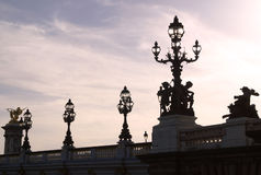bridge paris Στοκ εικόνες με δικαίωμα ελεύθερης χρήσης