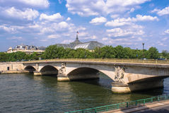 A Bridge in Paris Stock Image