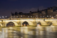 Bridge in Paris Stock Photography