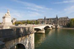 Bridge in Paris Royalty Free Stock Photos