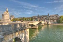 Bridge in Paris Royalty Free Stock Image