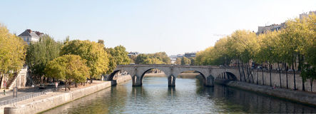 Bridge - Paris - France Stock Photos