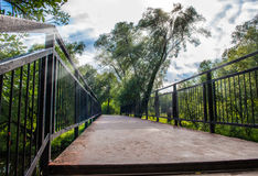 Bridge in the park Royalty Free Stock Images