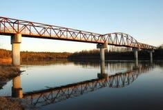 Bridge in the park Royalty Free Stock Photos