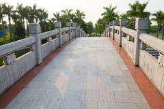 A bridge in the park Stock Photos