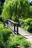 Bridge in park Stock Image
