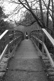 The bridge. Bridge in the park Royalty Free Stock Photography