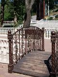 Bridge in the park. Royalty Free Stock Images