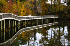 Bridge in the park Royalty Free Stock Photography