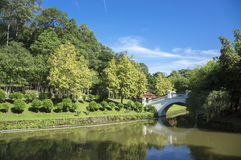 Bridge in the Park Stock Photography