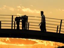 Bridge in Park Royalty Free Stock Images