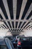 Bridge parking lot Stock Image