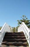 A bridge in Parque de La Bateria, Malaga Royalty Free Stock Photos