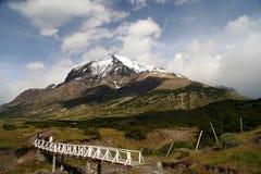Bridge in Patagonia Stock Images