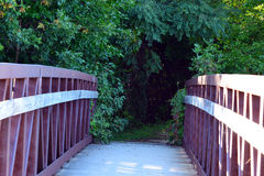 Bridge path Stock Image