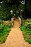 Bridge and path Royalty Free Stock Photography