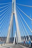 Bridge of Patras city in Greece Royalty Free Stock Photography