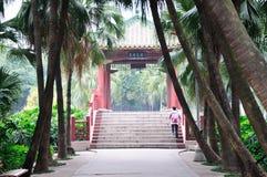 The bridge pavilion Stock Image