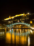 The Bridge of Peace in Tbilisi. Royalty Free Stock Photography