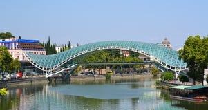 Bridge of Peace in Tbilisi Royalty Free Stock Photos
