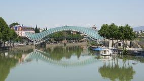 Bridge of Peace, Tbilisi, Georgia Royalty Free Stock Image