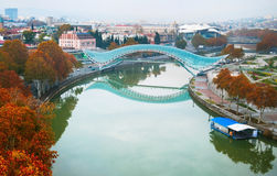 Bridge of Peace, Tbilisi Stock Photos