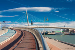 Bridge in Pescara Stock Photos