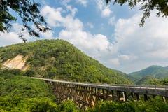 Bridge in Petchabun Royalty Free Stock Image