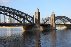 The Bridge of Peter the Great. Stock Image