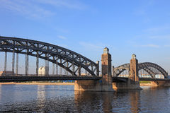 The Bridge of Peter the Great. Royalty Free Stock Photo