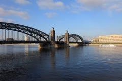 The Bridge of Peter the Great. Stock Photo