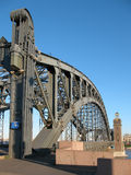 Bridge Peter the Great. Stock Images