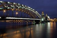 Bridge of Peter Great Stock Photo