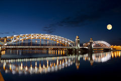 The Bridge Of Peter The Great Royalty Free Stock Photography