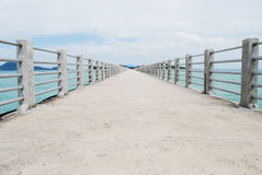 Bridge pier Royalty Free Stock Photography