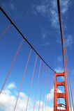 Bridge pier Golden Gate Bridge Royalty Free Stock Image