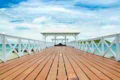 Bridge pier Stock Photo