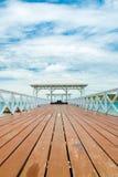 Bridge pier Royalty Free Stock Image