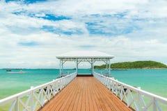 Bridge pier Royalty Free Stock Photo